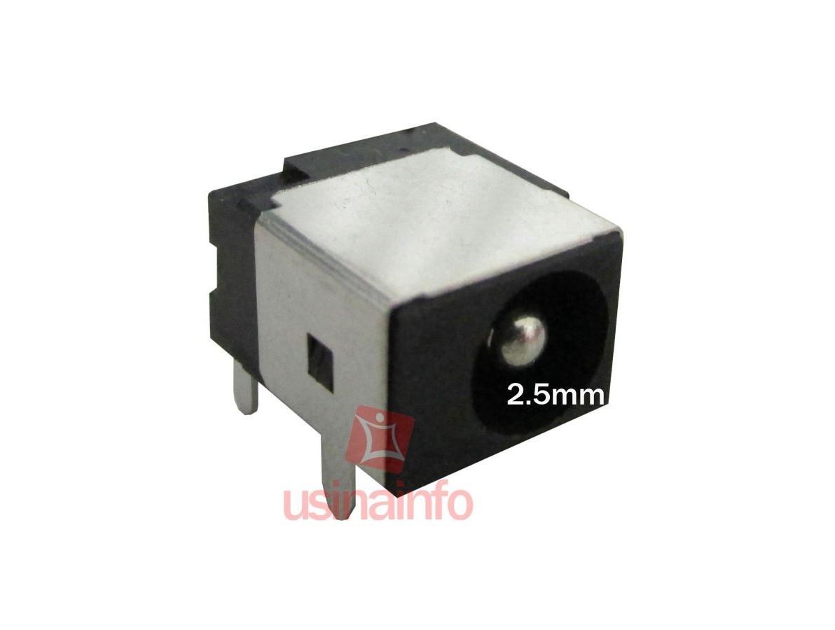 Conector de carga / Jack para Notebook - PJ 14 (Pino 2.5mm)