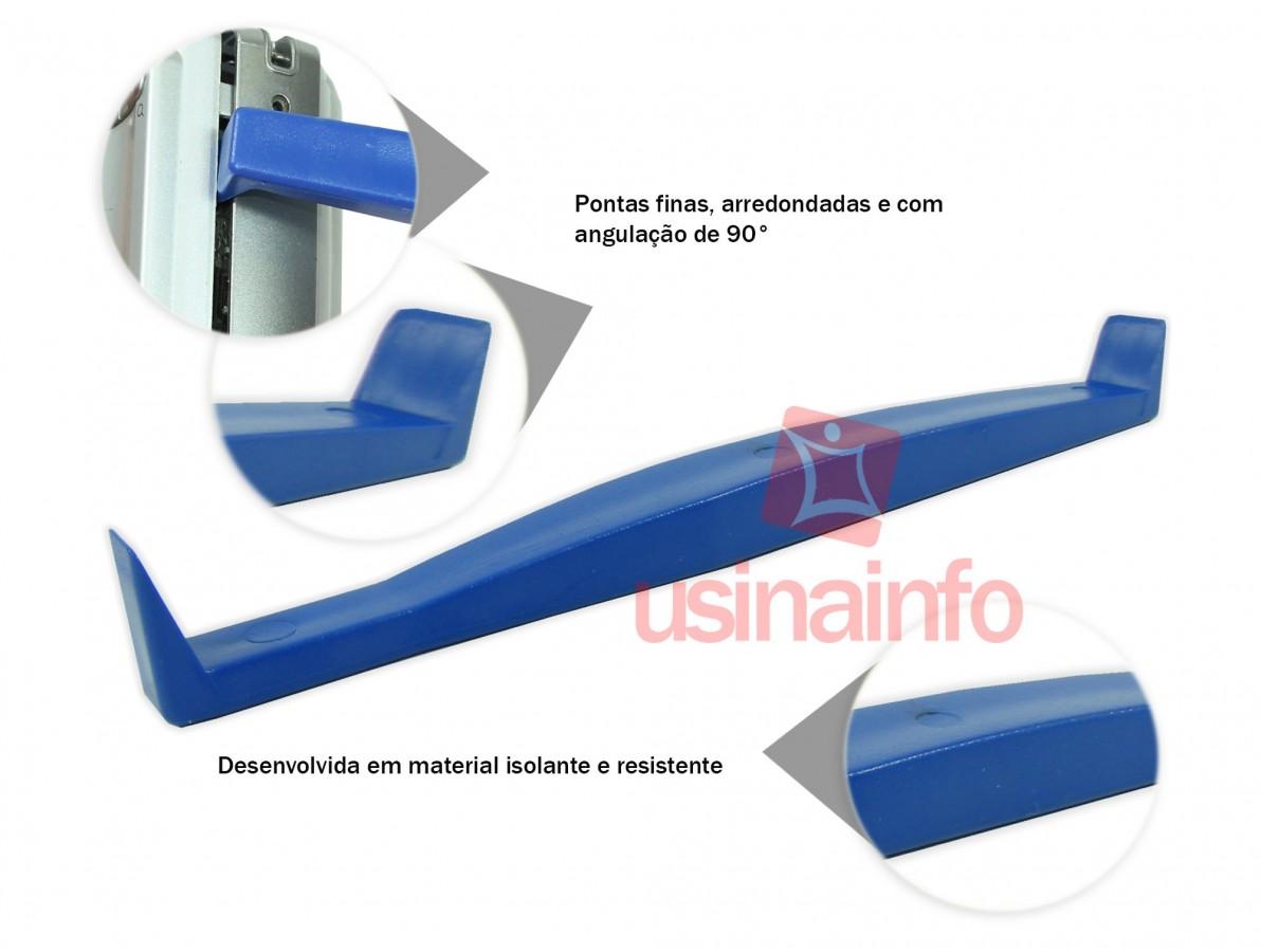 Chave plastica para desmontagem de câmeras, celulares, notebooks, entre outros -  R218
