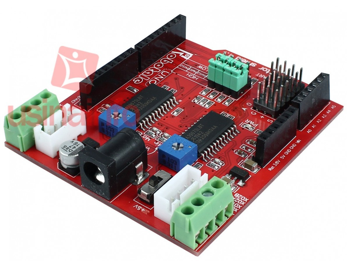 Shield 2 Canais para Motores de Passo - Arduino