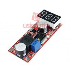 Regulador de Tensão LM2596 DC Ajustável Step Down (Para Menos) com Display - Saída 1,3V a 25V