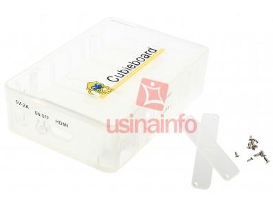 Cubieboard Case transparente fosco