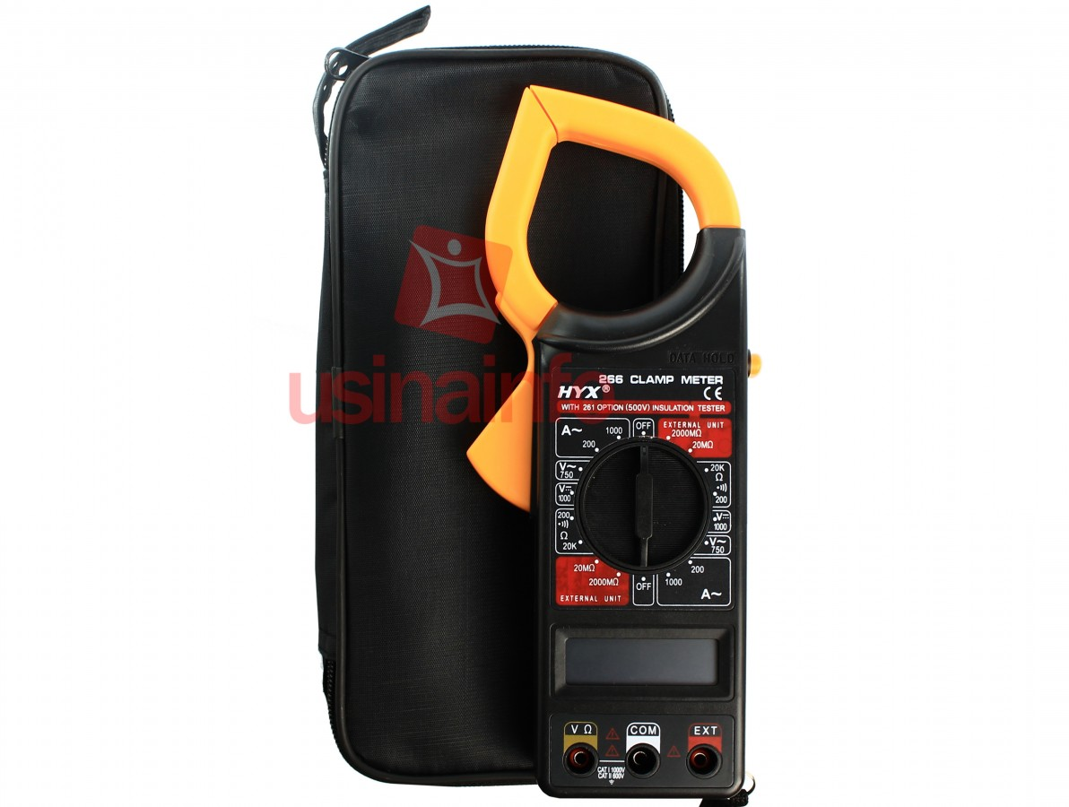 Alicate amperímetro digital 1000A - Brasfort 8559