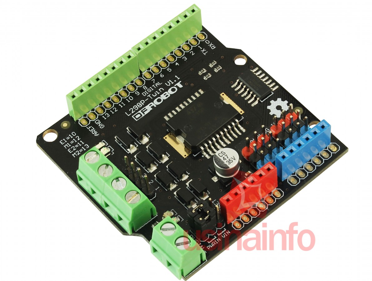 Shield Motor Arduino L298P - DFRobot