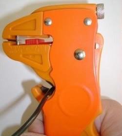 alicate decapador cortador de fio