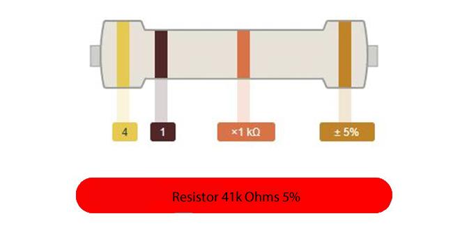 Cálculo Resistor 4 Cores