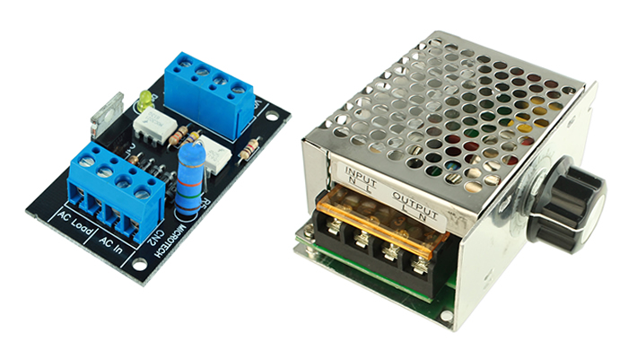 Dimmer Arduino com Ajuste Eletrônico e Manual