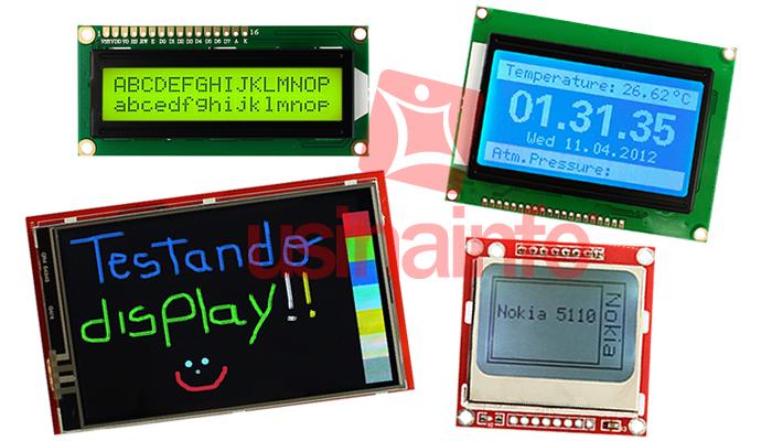 Tipos de Display para Arduino