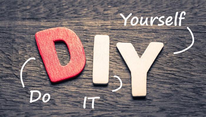 """Movimento DIY """"Faça Você Mesmo"""""""