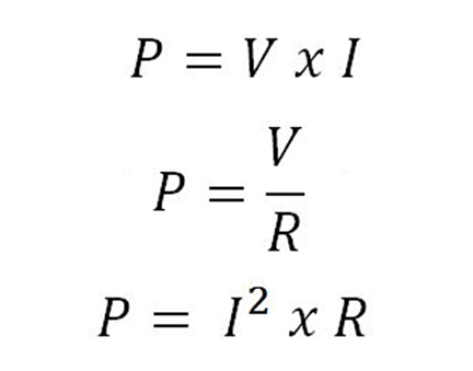 Fórmulas Cálculo Potência Resistor