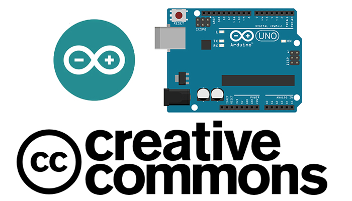 Licença do Arduino é Creative Commons