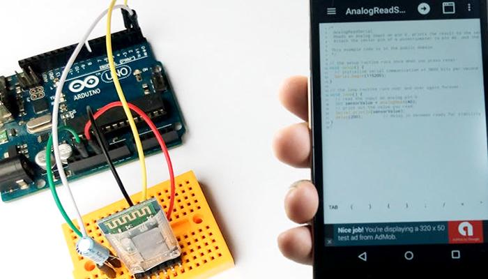 Controle Bluetooth Arduino pelo Smartphone