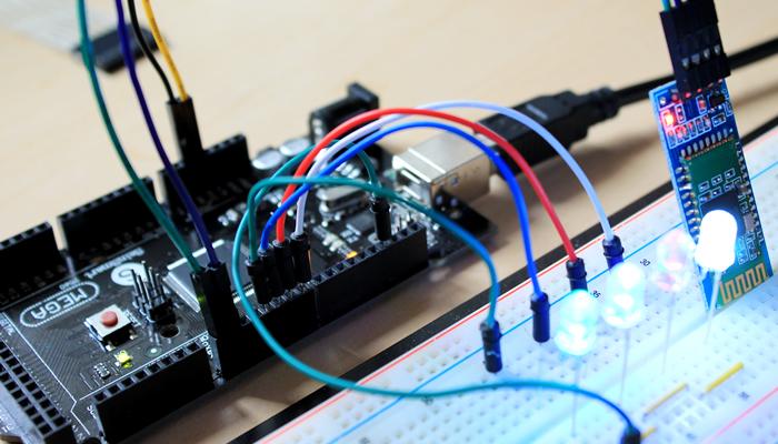 Projeto Bluetooth Arduino Controlando Iluminação
