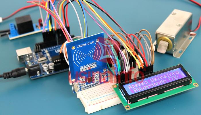 Exemplo de Projeto com Display Arduino