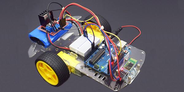 Driver Motor L298N com Arduino em Projeto Robótico
