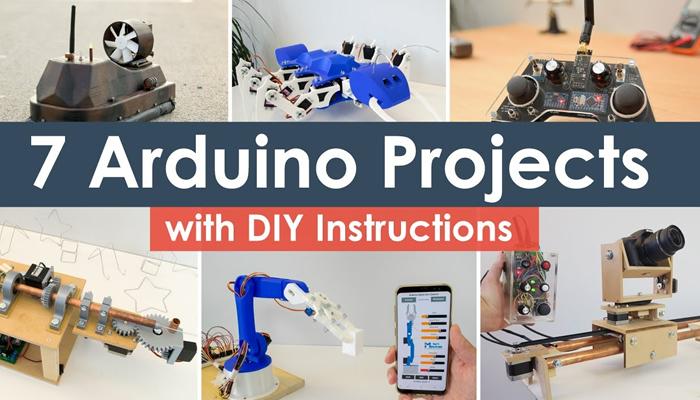 Ideias de Projeto Maker DIY Arduino