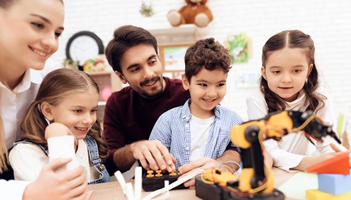 Robótica para Crianças, Jovens e Adultos