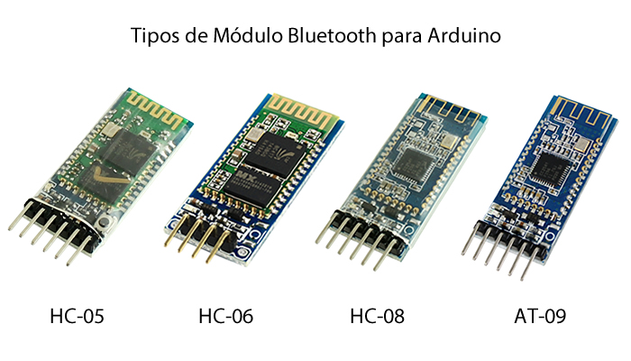 Tipos de Módulos Bluetooth Arduino