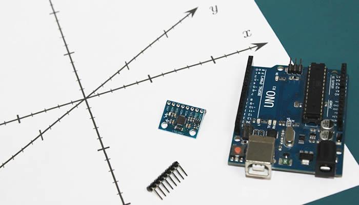 Acelerômetro Arduino 3 Eixos