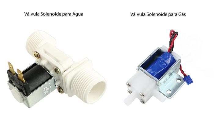 Válvula Solenoide para Água x Válvula Solenoide para Gás