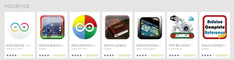 Aplicativos Android para Programar o Arduino