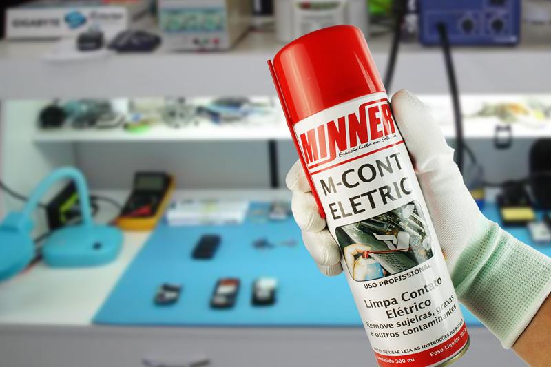 Spray Limpa Contato